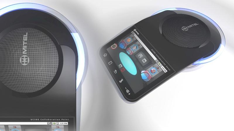 Mitel UC360 prototypes
